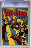 Golden Age (1938-1955):Funny Animal, Toy Town Comics #1 Carson City pedigree (Toytown , 1945) CGC VF/NM9.0 Off-white to white pages....