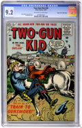 Golden Age (1938-1955):Western, Two-Gun Kid #28 Mile High pedigree (Marvel, 1955) CGC NM- 9.2 Off-white to white pages....