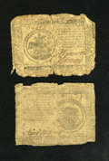 Colonial Notes:Continental Congress Issues, Continental Currency November 29, 1775 $1 AG. Continental CurrencyMay 9, 1776 $5 AG.... (Total: 2 notes)