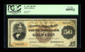 Large Size:Gold Certificates, Fr. 1192 $50 1882 Gold Certificate PCGS Very Fine 30PPQ....