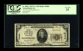 National Bank Notes:Pennsylvania, Republic, PA - $20 1929 Ty. 1 The First NB Ch. # 10466. ...