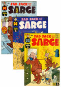 Silver Age (1956-1969):Humor, Sad Sack and the Sarge - File Copy Box Lot Group (Harvey, 1962-82) Condition: Average VF+.... (Total: 2 Box Lots)