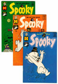 Silver Age (1956-1969):Humor, Spooky - File Copy Long Box Group (Harvey, 1962-80) Condition: Average VF+....