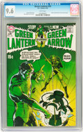 Bronze Age (1970-1979):Superhero, Green Lantern #76 (DC, 1970) CGC NM+ 9.6 White pages....