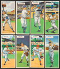 Baseball Cards:Sets, 1955 Topps Double Headers Partial Set (39/66). ...
