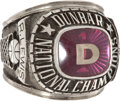 Basketball Collectibles:Others, 1983 Reggie Lewis High School Championship Ring....