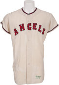 Baseball Collectibles:Uniforms, 1963 Jim Fregosi Game Worn Los Angeles Angels Jersey....