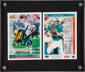 Football Cards:Singles (1970-Now), 1993 Upper Deck Authenticated Dan Marino Signed Card Collection....