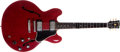 Musical Instruments:Electric Guitars, 1961 Gibson ES-335 Cherry, #16858....