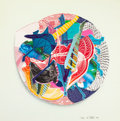 Prints:Contemporary, FRANK STELLA (American, b. 1936). Roncador (from ImaginaryPlaces III), 1998. Lithograph, etching, screenprint, relief,...