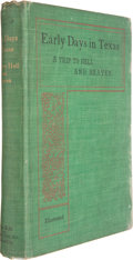 Books:Non-fiction, Jim McIntire. Early Days in Texas; a Trip to Hell andHeaven. Kansas City: McIntire Publishing Company, 1902. Fi...