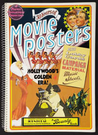 "50 Years of Movie Posters (Bounty Books, 1973). Spiral Bound Book (176 Pages, 12"" X 17.25). Miscellaneous"