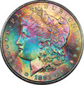 Morgan Dollars, 1881-S $1 MS66 ★ NGC. CAC....