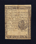 Colonial Notes:Pennsylvania, Pennsylvania April 10, 1777 6d Very Fine.. ...