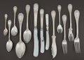 Silver Flatware, Continental:Flatware, A GERMAN SILVER FLATWARE SERVICE . H. Meyen & Co., Berlin,Germany, circa 1900. Marks: H. MEYEN & CO., (crescent,crown)... (Total: 156 Items)