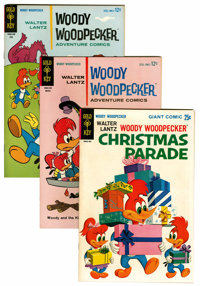 Woody Woodpecker File Copies Group (Gold Key, 1964-80) Condition: Average VF/NM.... (Total: 90 Comic Books)