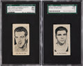 Boxing Cards:General, 1927 E211 York Caramel Boxers SGC-Graded Pair (2). ...