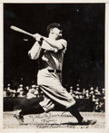 Autographs:Others, 1946 Babe Ruth Signed Photograph....