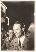 Autographs:Photos, 1930's Lou Gehrig Signed Photograph....