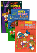 Bronze Age (1970-1979):Cartoon Character, Huey, Dewey, and Louie Junior Woodchucks File Copies Group (GoldKey/Whitman, 1971-84) Condition: Average VF+.... (Total: 49 ComicBooks)