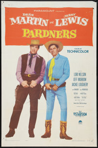 """Pardners (Paramount, 1956). One Sheet (27"""" X 41""""). Comedy"""