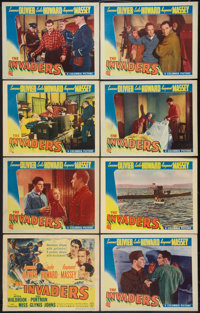 """The Invaders (Columbia, 1941). Lobby Card Set of 8 (11"""" X 14""""). War. ... (Total: 8 Items)"""