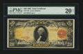Large Size:Gold Certificates, Fr. 1179 $20 1905 Gold Certificate PMG Very Fine 20 Net.. ...