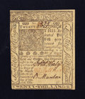 Colonial Notes:Delaware, Delaware January 1, 1776 20s About New.. ...