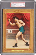 Boxing Cards:General, 1911 T9 Turkey Red Willie Lewis #74 PSA EX 5....