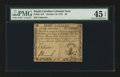 Colonial Notes:South Carolina, South Carolina October 19, 1776 $8 PMG Choice Extremely Fine 45EPQ.. ...
