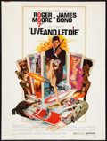 "Movie Posters:James Bond, Live and Let Die (United Artists, 1973). Poster (30"" X 40""). JamesBond.. ..."