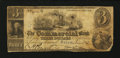 Obsoletes By State:Massachusetts, Salem, MA- Commercial Bank Altered $3 June 1847. ...