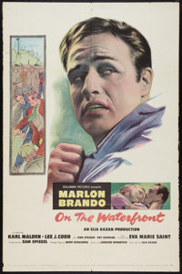 """On the Waterfront (Columbia, 1954). One Sheet (27"""" X 41""""). Drama"""