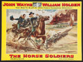 """Movie Posters:Western, The Horse Soldiers (United Artists, 1959). Pressbook (Multiple Pages, 13.25"""" X 18""""). Western.. ..."""