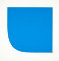 Prints:Contemporary, ELLSWORTH KELLY (American, b. 1923). Blue I, 1975.Lithograph in color with embossing. Sheet: 39-3/4 x 39 inches(101.0 ...