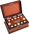 Miscellaneous:Gaming Collectibles, Ivory Poker Chips: A Beautiful Cased Set of 300. ...