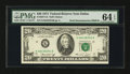 Error Notes:Double Denominations, Fr. 2071-K $20/$10 1974 Federal Reserve Note. PMG Choice Uncirculated 64 EPQ.. ...