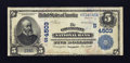 National Bank Notes:Virginia, Covington, VA - $5 1902 Date Back Fr. 593 The Covington NB Ch. #(S)4503. ...