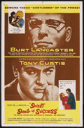 """Movie Posters:Drama, Sweet Smell of Success (United Artists, 1957). One Sheet (27"""" X41""""). Drama. ..."""