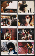 "Movie Posters:Rock and Roll, Purple Rain (Warner Brothers, 1984). Lobby Card Set of 8 (11"" X14""). Rock and Roll Musical. ... (Total: 8 Items)"