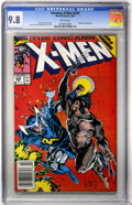 Modern Age (1980-Present):Superhero, X-Men #258 (Marvel, 1990) CGC NM/MT 9.8 White pages....
