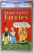 Golden Age (1938-1955):Adventure, Crackajack Funnies #10 Mile High pedigree (Dell, 1939) CGC NM+ 9.6 Off-white to white pages....