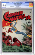 Golden Age (1938-1955):Superhero, Captain Marvel Jr. #27 Mile High pedigree (Fawcett, 1945) CGC NM+ 9.6 Off-white to white pages....