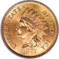 Indian Cents, 1877 1C MS66 Red PCGS....