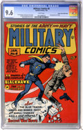 Golden Age (1938-1955):War, Military Comics #6 Mile High pedigree (Quality, 1942) CGC NM+ 9.6White pages....