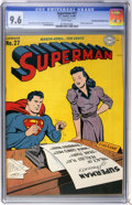 Golden Age (1938-1955):Superhero, Superman #27 Double Cover - Pennsylvania pedigree (DC, 1944) CGC NM+ 9.6 White pages....