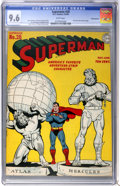 Golden Age (1938-1955):Superhero, Superman #28 Pennsylvania pedigree (DC, 1944) CGC NM+ 9.6 White pages....