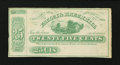 Obsoletes By State:Ohio, Uniontown, OH- Fauley & Brechbill 25¢ Jan. 1, 1863. ...