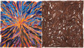 Post-War & Contemporary:Contemporary, CHARLES ARNOLDI (American, b. 1946). Volcano Log Jam III,1982. Acrylic on plywood, branches. Signed and dated on the re...