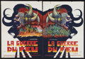 "Movie Posters:Adventure, Quest for Fire (20th Century Fox, 1982). French Petite Set of 2(15.25"" X 20.75""). Adventure.. ... (Total: 2 Items)"